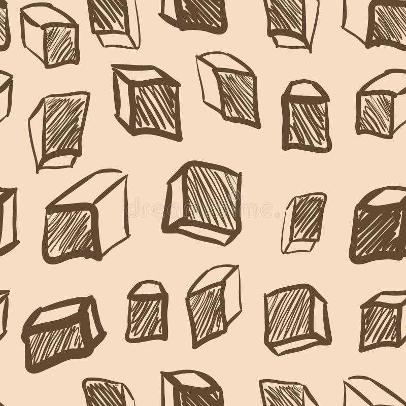Download Texture Sans Couture Avec Des Cubes En Vintage Illustration de Vecteur - Illustration du cube, contemporain: 45372253