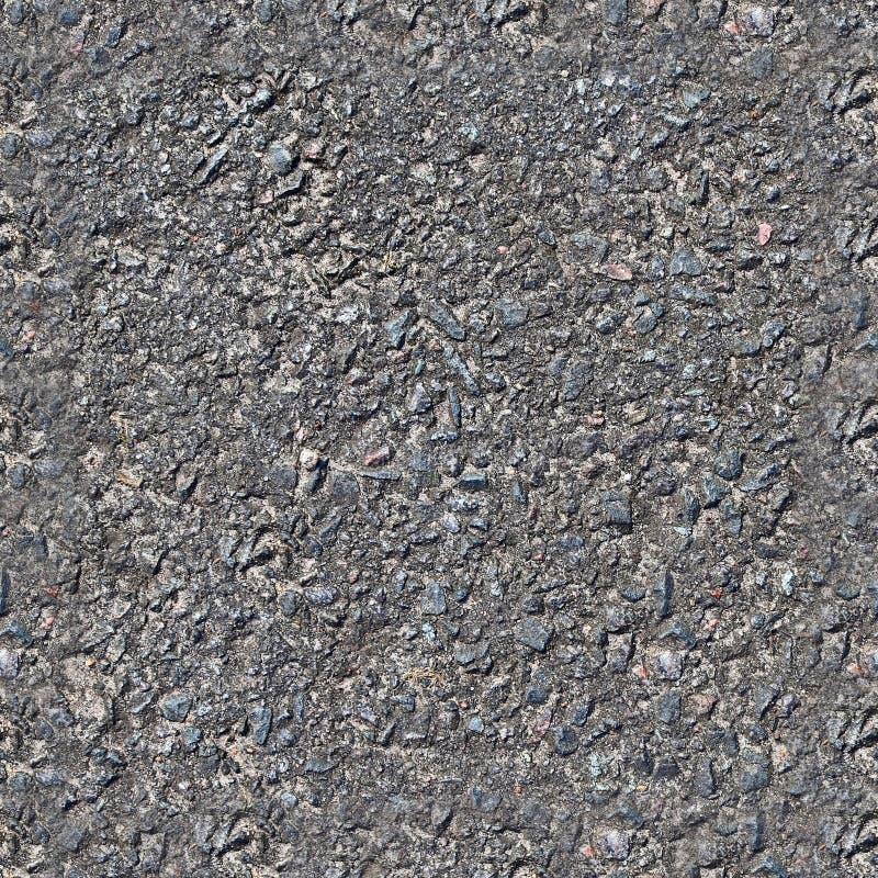 Texture sans couture détaillée d'asphalte sur une route dans la haute résolution image libre de droits