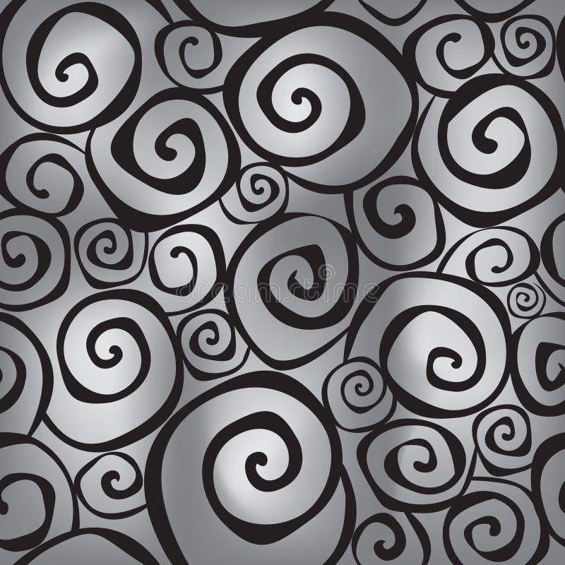 Texture sans couture d'éclaboussure abstraite illustration stock