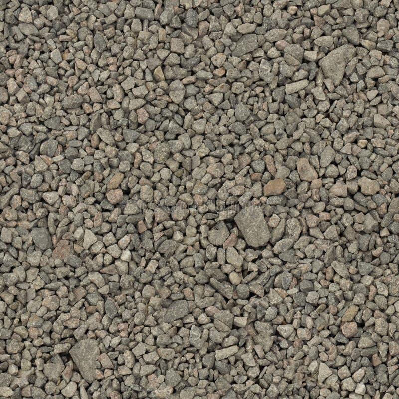 Texture sans couture de blocaille en pierre grise de granit photo libre de droits