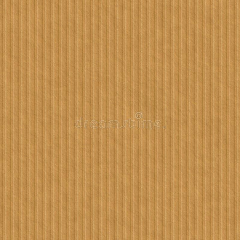 Texture sans couture de carton, fond de papier illustration de vecteur