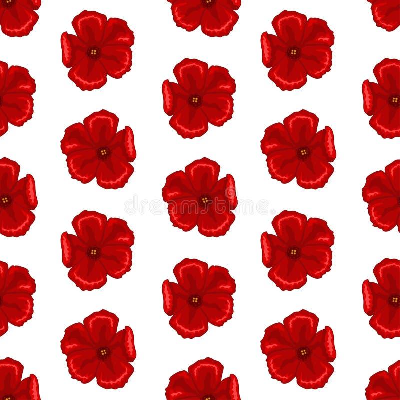 Texture sans couture de fleur illustration stock