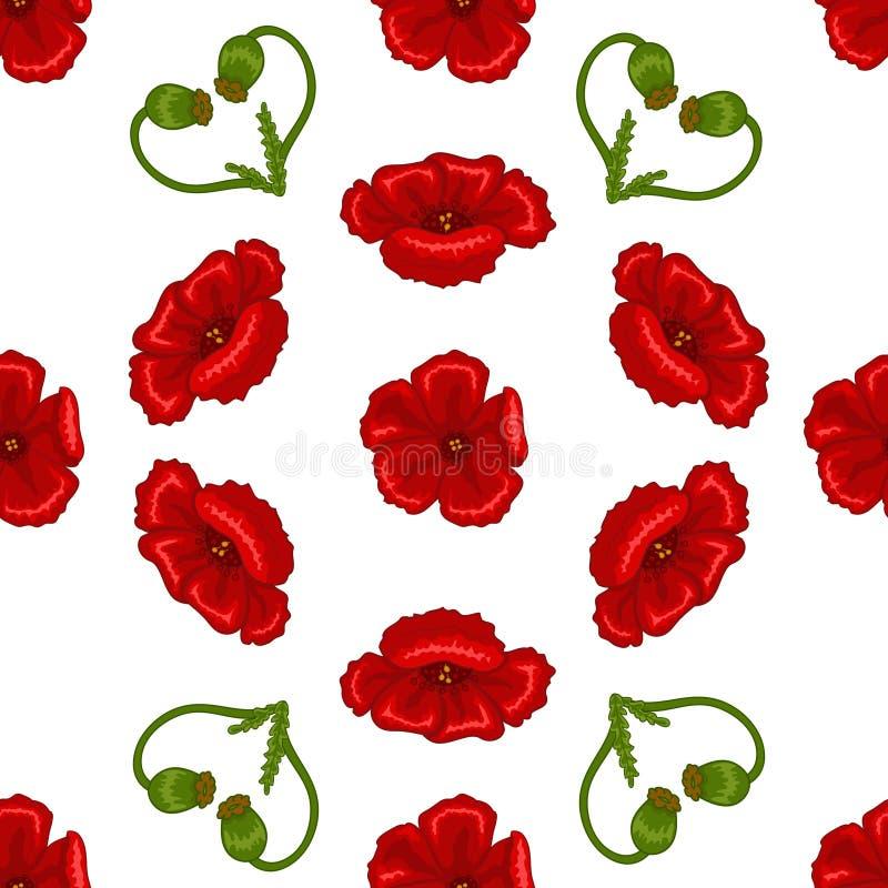 Texture sans couture de fleur illustration libre de droits