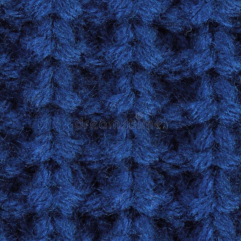 Texture sans couture de haute qualité de tissu tricoté illustration libre de droits