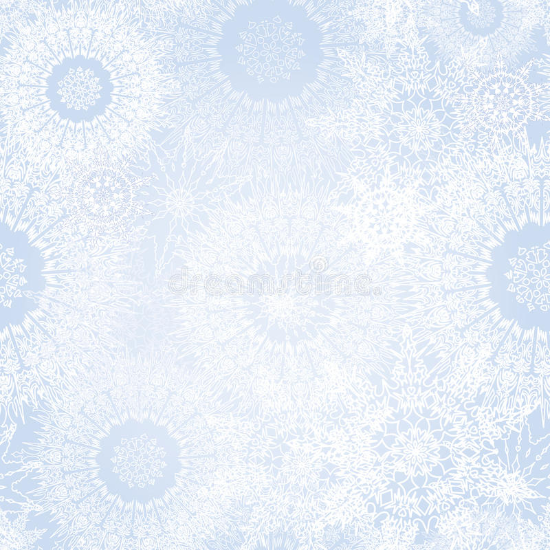 Texture sans couture de neige abstraite illustration de vecteur