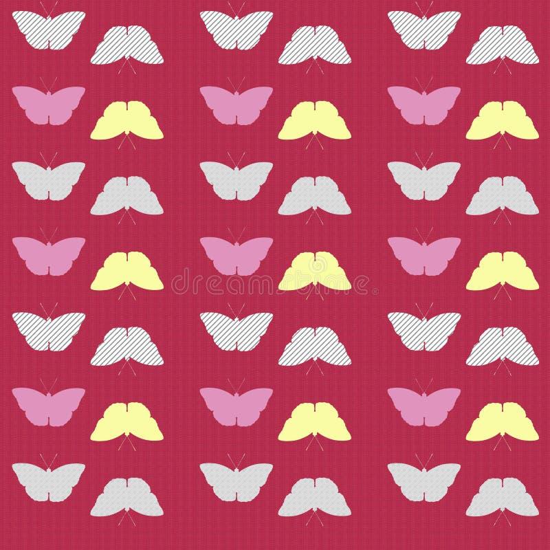 Texture sans couture de papillon photographie stock libre de droits