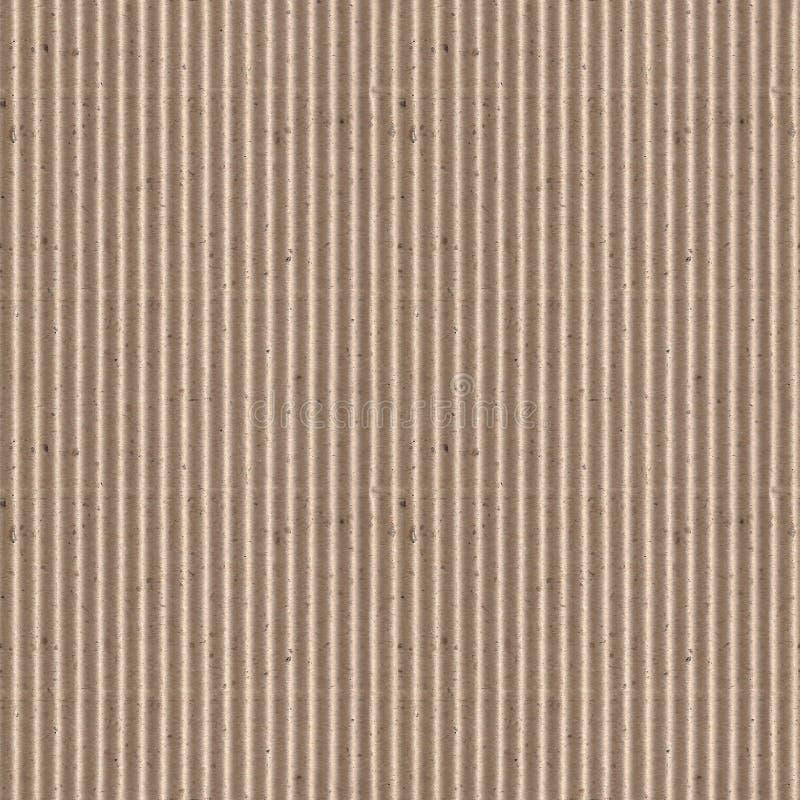 Texture sans couture de photo de carton ondulé images stock