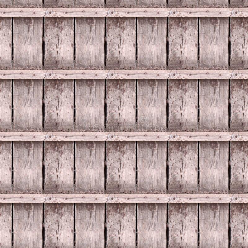 Texture sans couture de photo de vieilles planches de bois de charpente image stock