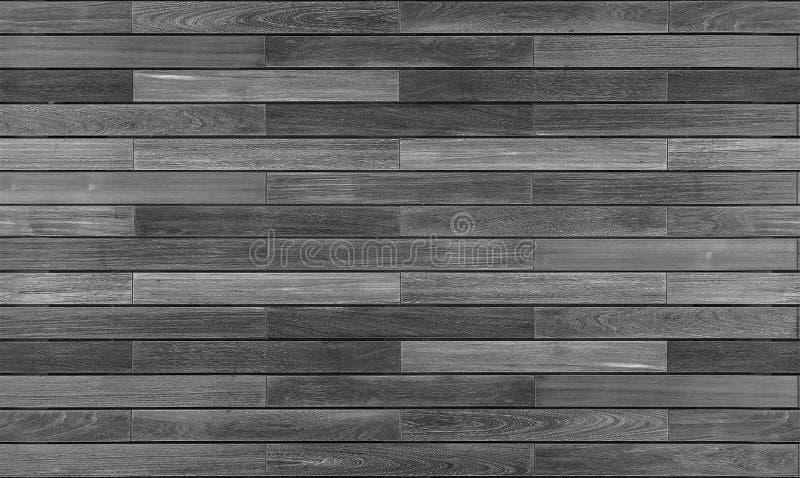 Texture sans couture de planches réutilisée par gris de Decking images stock