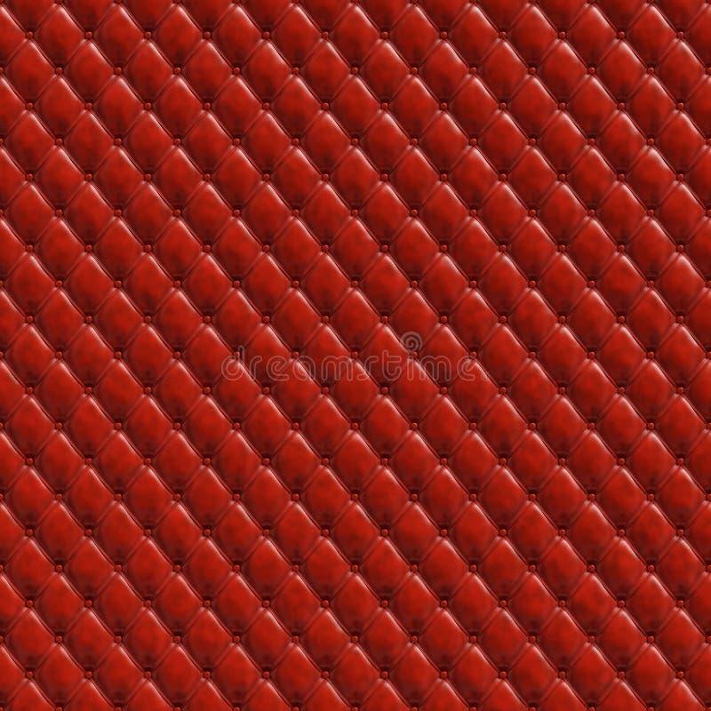 Texture sans couture de remplissage rouge illustration libre de droits