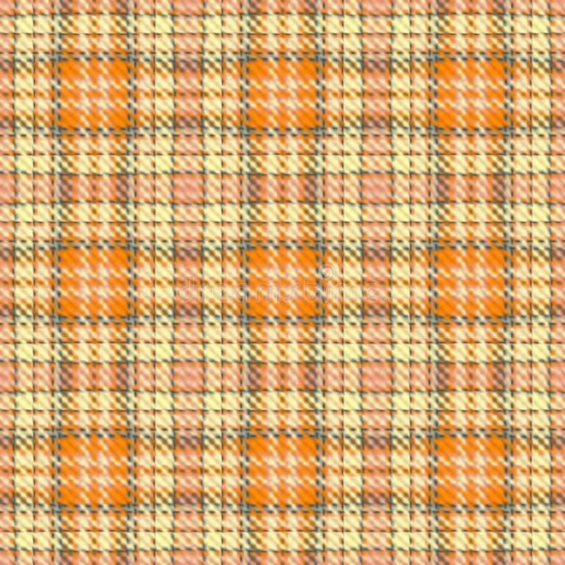 Texture sans couture de tissu illustration stock