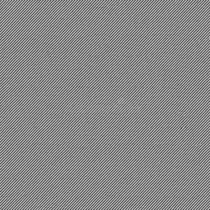 Texture sans couture de tissu noir et blanc Carte de texture pour 3d et le 2d photographie stock