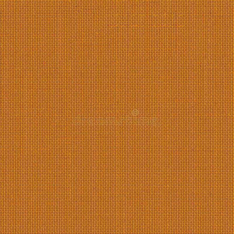 Texture sans couture de tissu orange Carte de texture pour 3d et le 2d photographie stock