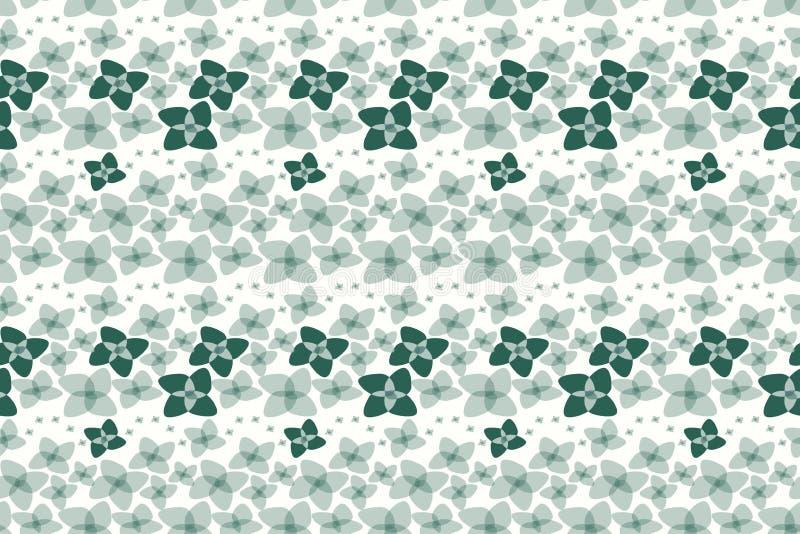 Texture sans couture de vecteur de motifs botaniques Petites fleurs illustration de vecteur