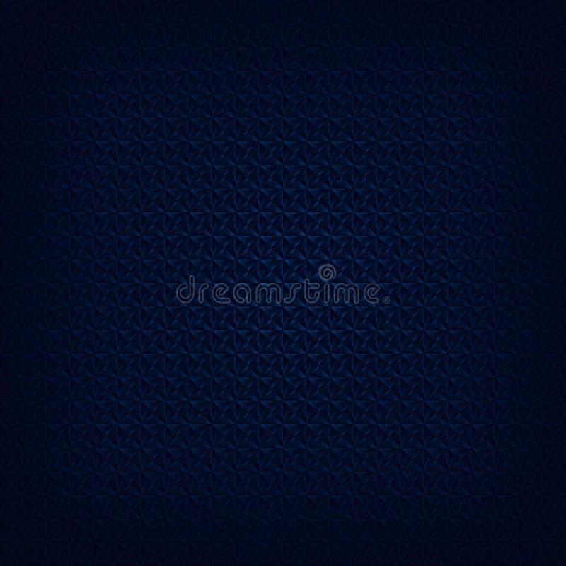 Texture sans couture foncée bleue illustration stock
