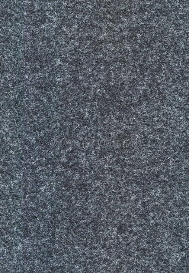 Texture sans couture grise de feutre photo libre de droits