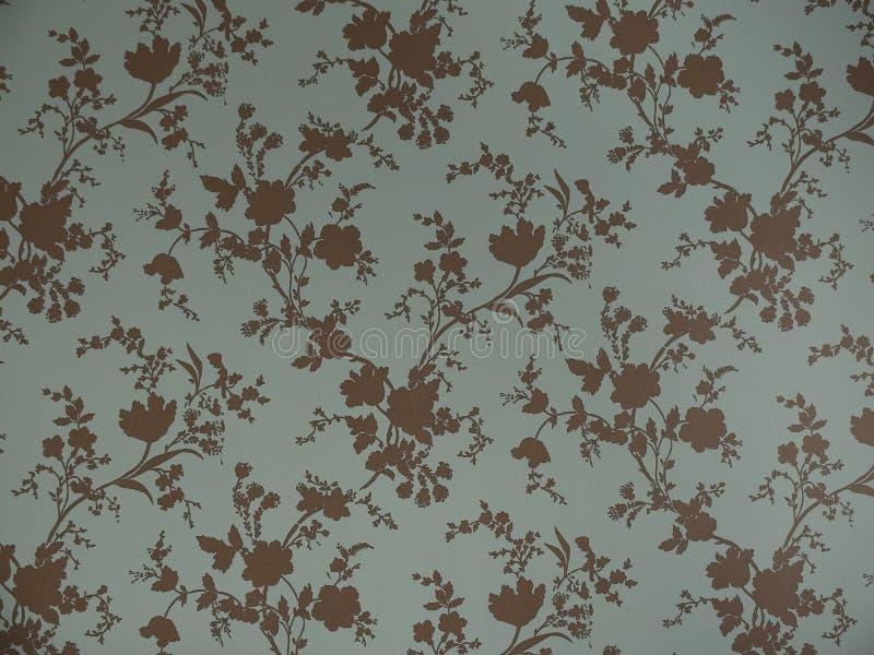 Texture sans joint avec des fleurs Papier peint floral sans fin de modèle photographie stock