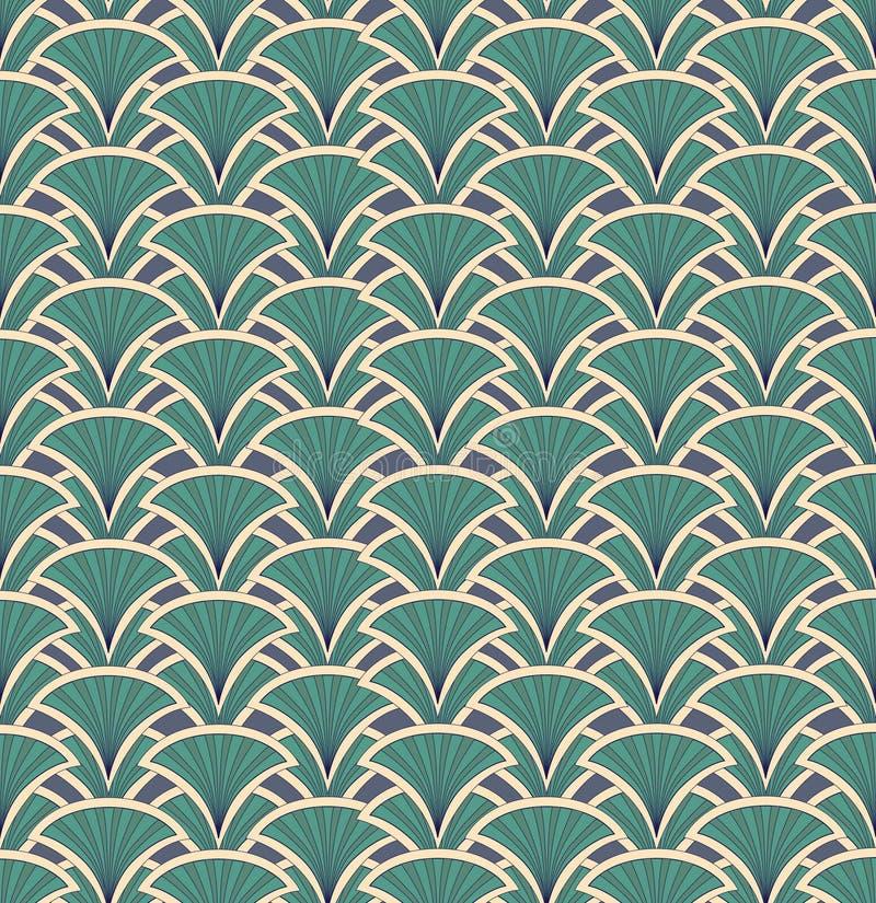 Texture sans joint avec l'ornement floral illustration de vecteur