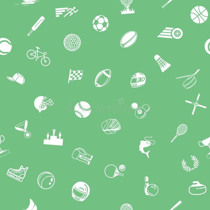 Texture sans joint de fond de sport illustration libre de droits