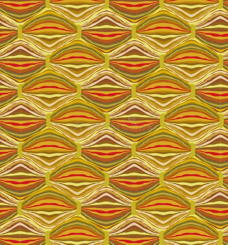 Texture sans joint de laines. Fond abstrait illustration stock
