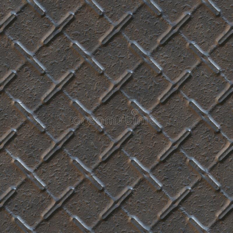 Texture sans joint de métal photo libre de droits