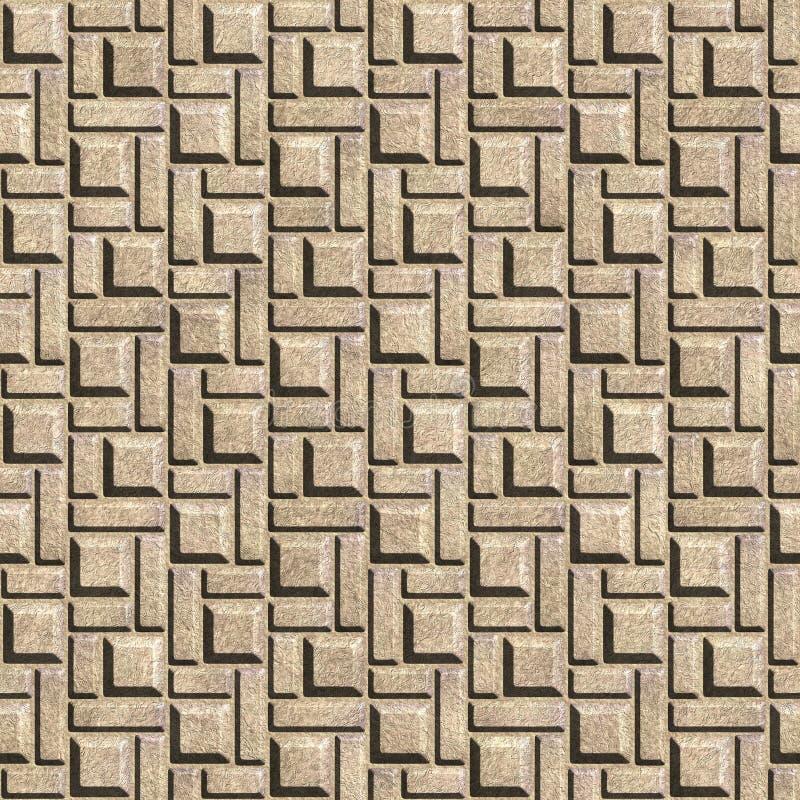Texture sans joint de mur images libres de droits
