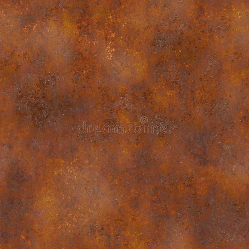 Texture sans joint de rouille illustration stock
