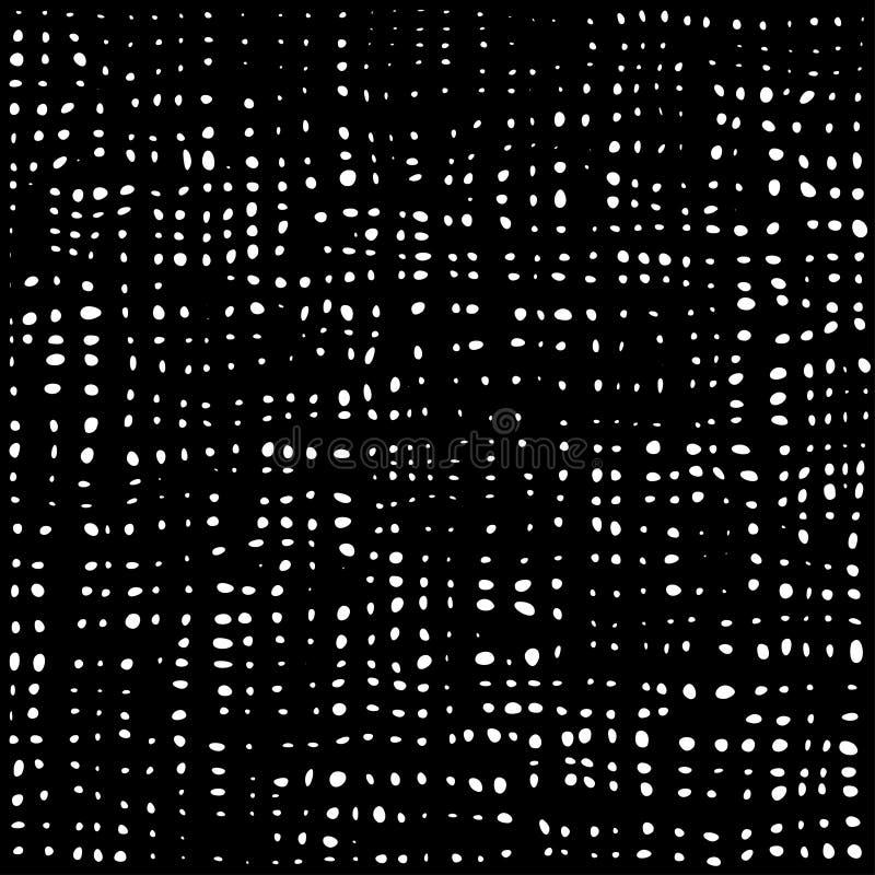 Texture sans joint de tissu Toile pour la broderie Configuration sans joint Fond abstrait de vecteur illustration libre de droits
