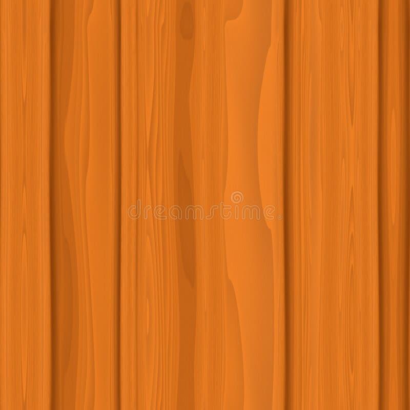 Texture sans joint en bois illustration libre de droits