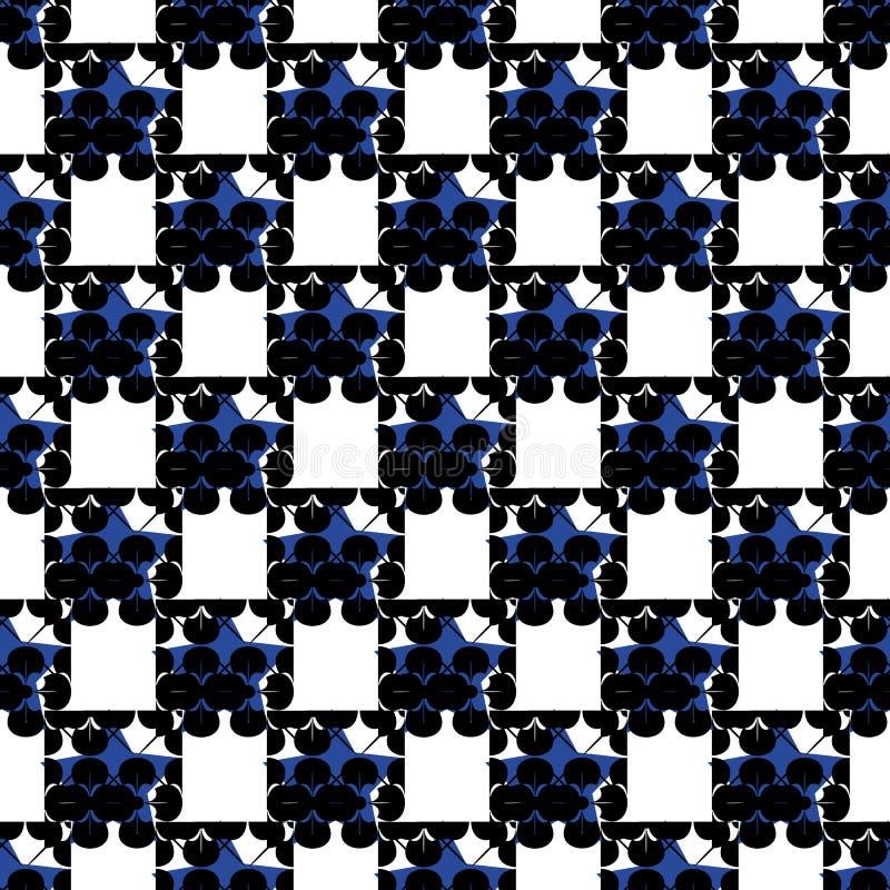 texture sans joint fleurie illustration de vecteur