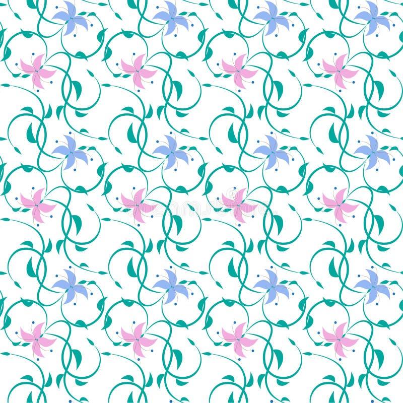 Texture sans joint florale photo libre de droits