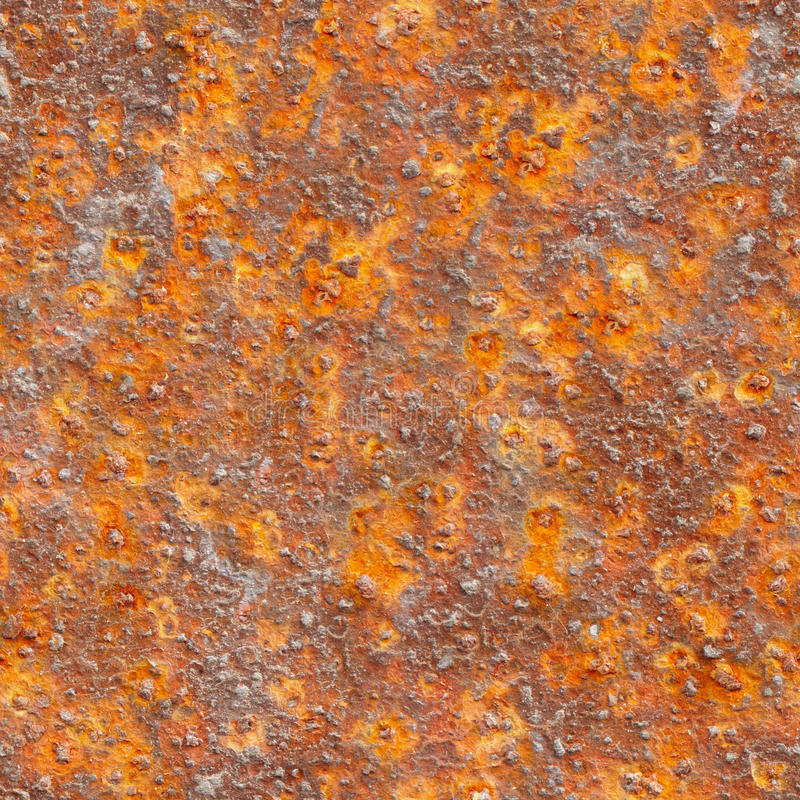 Texture sans joint - métal avec la corrosion photographie stock libre de droits