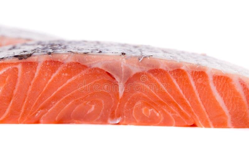 Texture saumonée de filet photos stock