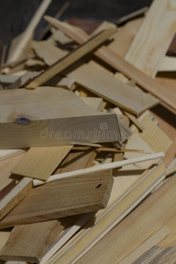 Texture of sawn wood lit by the bright sun. Texture of sawn scribbled pieces of wood lit by the bright sun royalty free stock photos