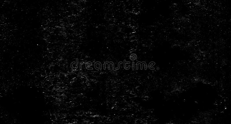 Black Dark grunge scratched distressed old texture. Texture of scratches vintage old effect film royalty free stock images