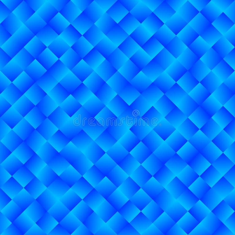 Texture se composant des places lumineuses bleues de gradient Vect abstrait illustration stock