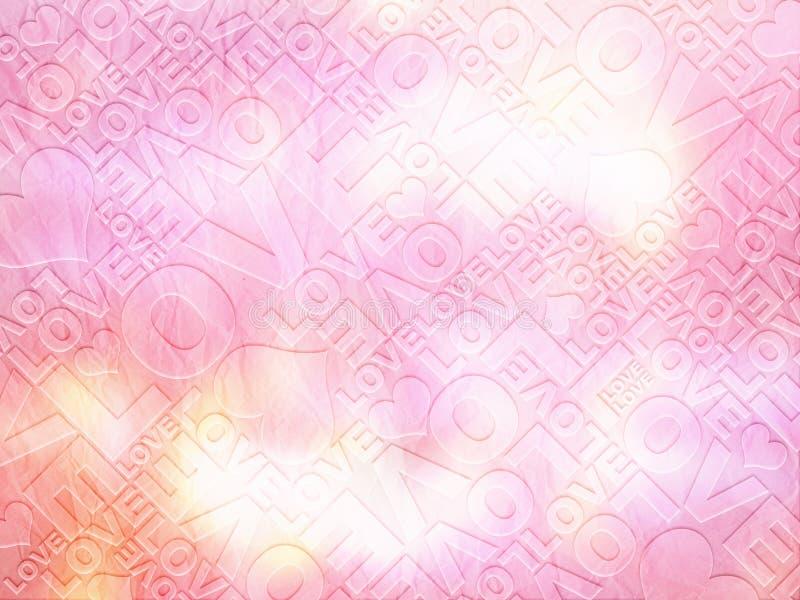 Texture sensible de Saint-Valentin d'amour photos stock