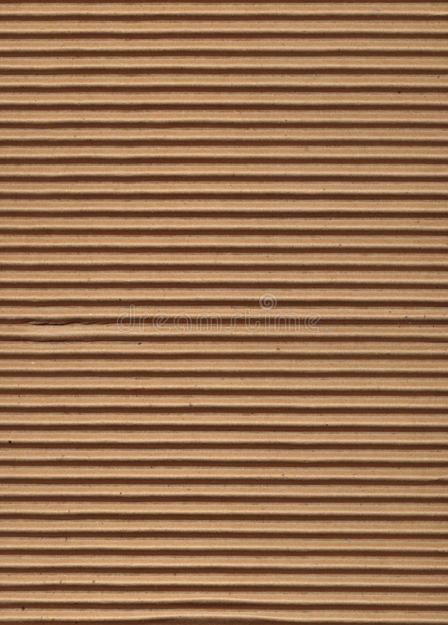 Texture Series - Corrugated Cardboard royalty free stock photo