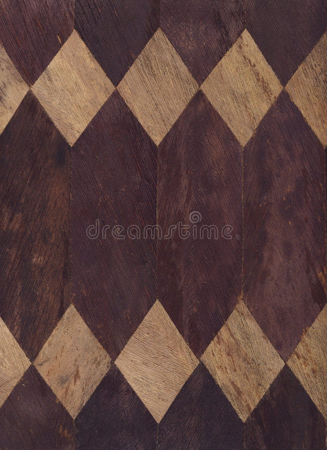 Texture Series - Wood Diamonds royalty free stock images