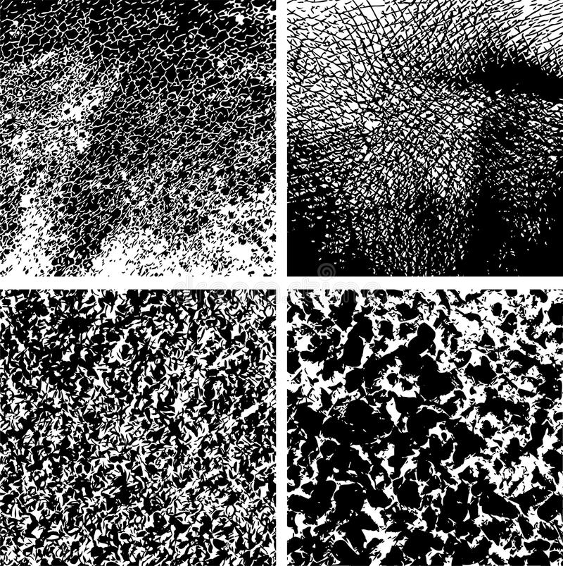 Texture Set Royalty Free Stock Photography