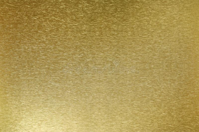 Texture of shiny old golden plate, abstract background, selective focus stock images
