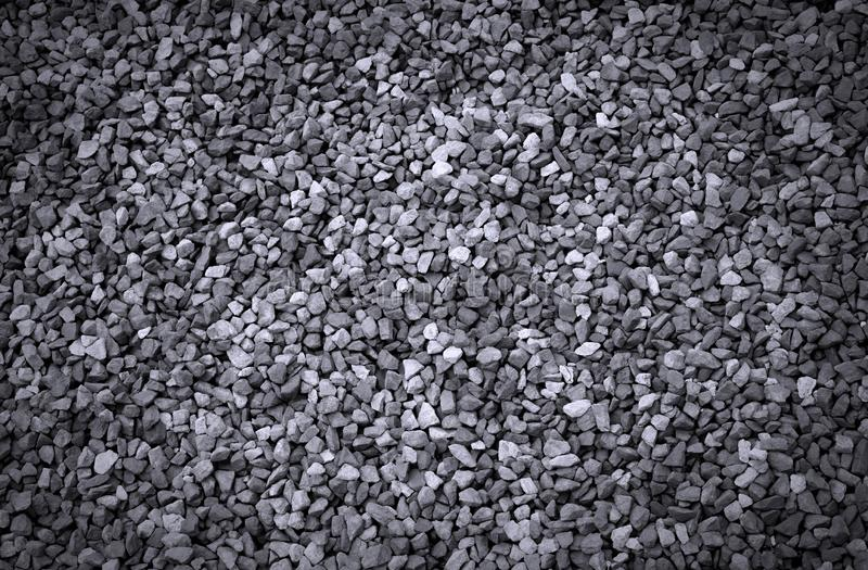 texture of small grey gravel stones royalty free stock photo