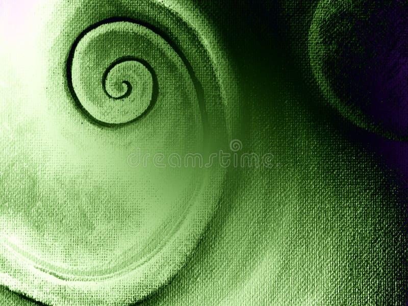 Texture spiralée de toile de configuration images libres de droits