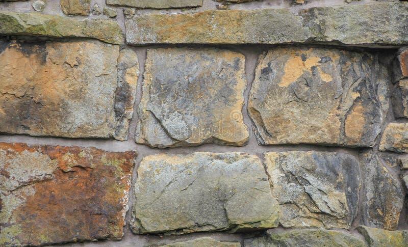 The texture of stone cobblestones stock photography