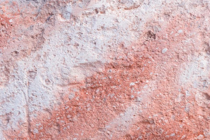 The texture of the stone. Coral, pink . Natural background . B royalty free stock photo
