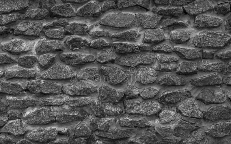 Texture of stone wall. Neutral grey background. Texture of stone wall, neutral grey background royalty free stock image