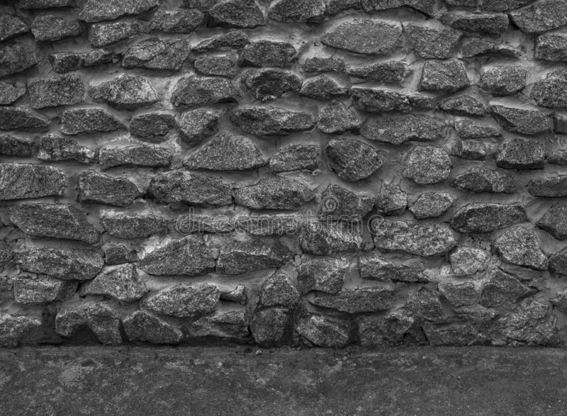 Texture of stone wall. Neutral grey background.  stock images