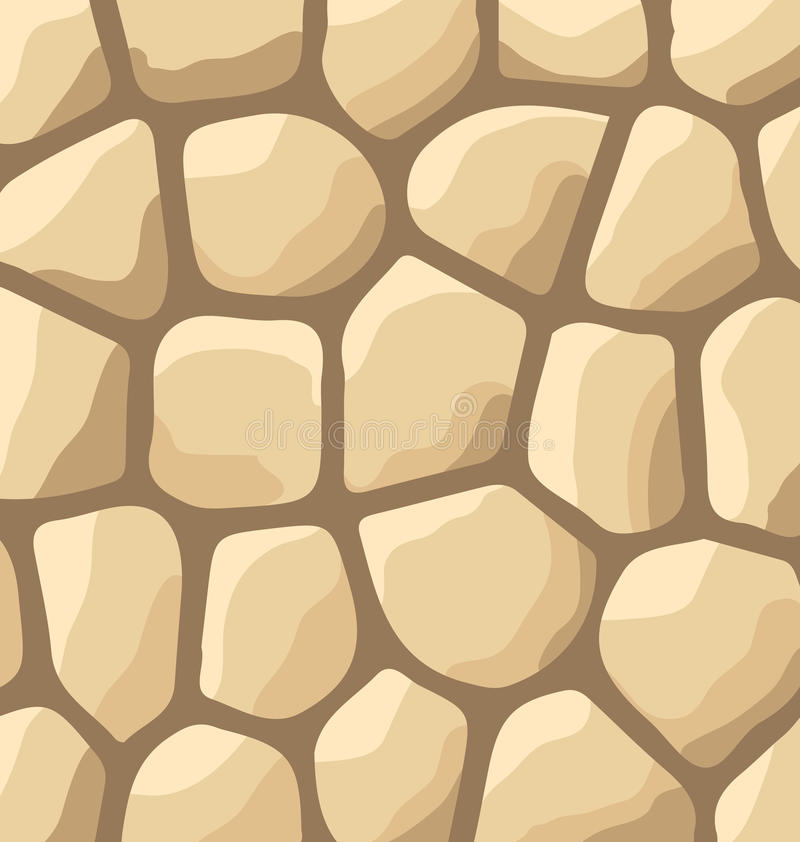 Texture of stones, stone wall background. Illustration texture of stones, stone wall background - vector stock illustration