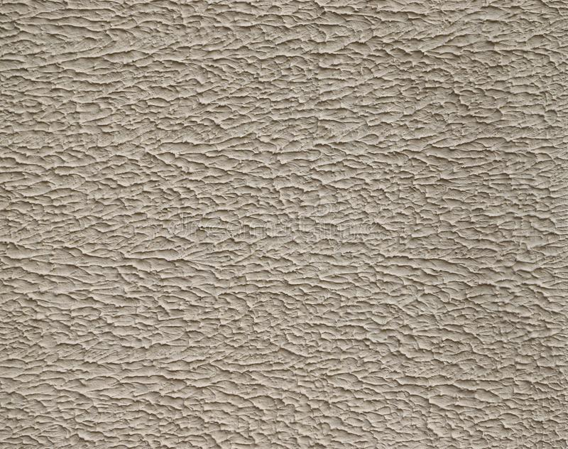 Texture of stucco used as an exterior coating on a building. As a background royalty free stock photo