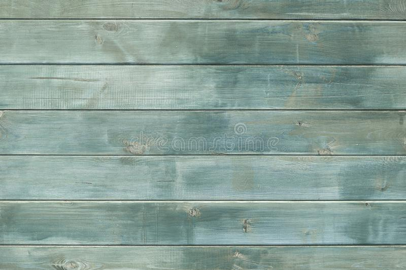 Texture table wooden green free. Background of the tree, dark color boards, without objects. Harvesting wood horizontal. Boards royalty free stock image